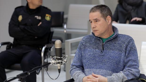 El etarra Antonio Troitiño, en el juicio en la Audiencia Nacional