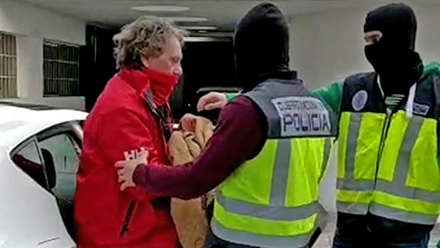 El narco Sito Miñanco, tras su detención