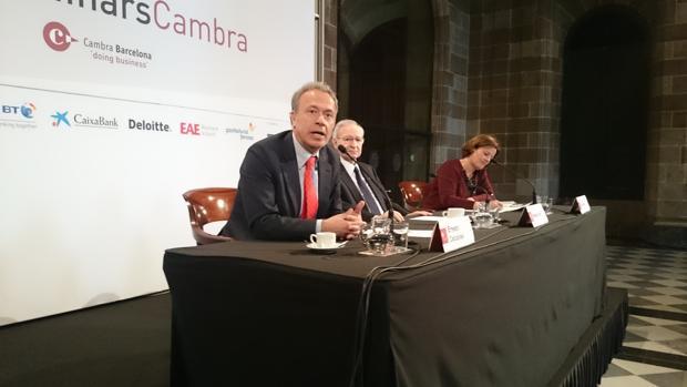 Ernesto Caccavale, durante su intervención en la Cámara