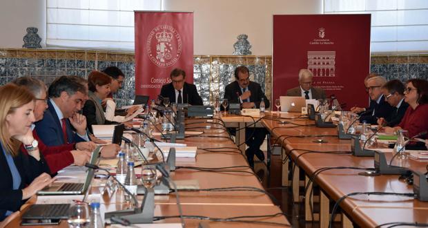 Celebración del pleno del Consejo Social de la UCLM