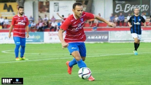 Iván Moreno durante su etapa como jugador de La Roda