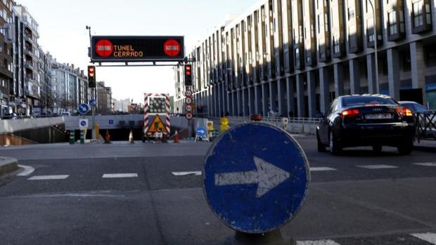 Túnel de Sor Ángela, cerrado desde principios de febrero