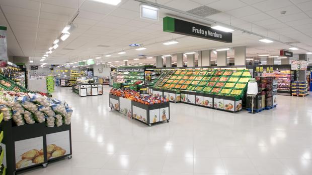 Imagen del nuevo modelo de tienda de Mercadona