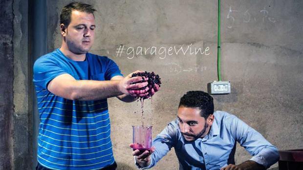 Jesús Toledo y Julián Ajenjo, los dos primos y creadores de este proyecto enológico de Quintanar