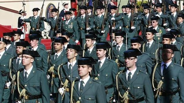 Desfile de la Guardia Civil