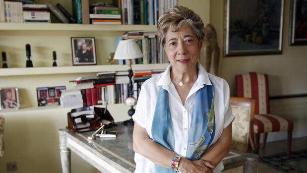 La catedrática de Derecho Internacional Araceli Mangas, en Madrid