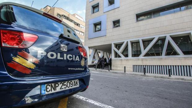 Imagen de archivo de la comisaría provincial de Alicante