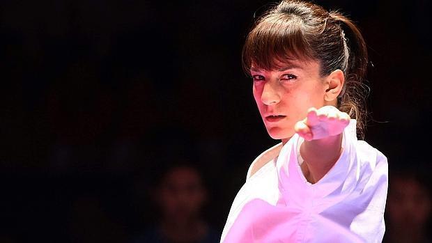 Sandra Sánchez lleva 26 competiciones seguidas subiendo al podio y ha conseguido acabar los tres últimos años como número uno del mundo