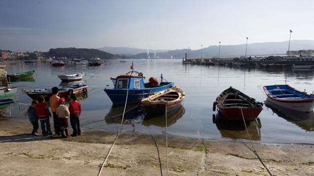 Vista del puerto de Combarro, uno de los pueblos más bellos de Galicia