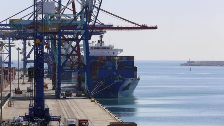 La carga radiactiva localizada en el puerto de Valencia no reviste gravedad