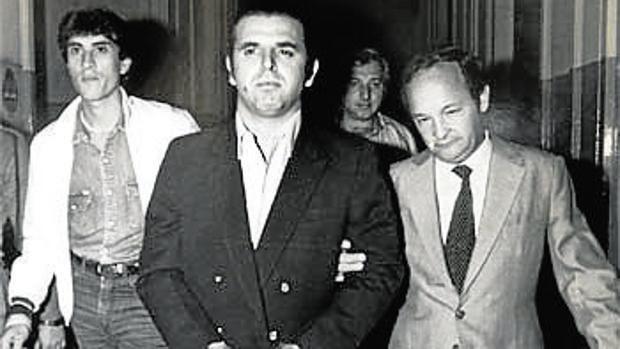 Firmenich, al ser detenido en 1984 en Buenos Aires