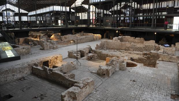 Vista del yacimiento arqueológico del Born