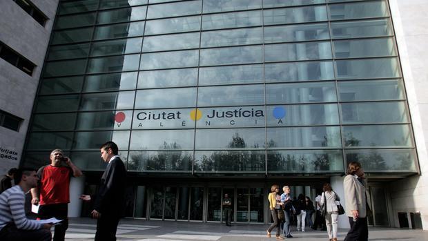 Imagen de archivo de la Ciudad de la Justicia de Valencia