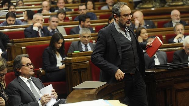 Baños, en el Parlament en una imagen de archivo