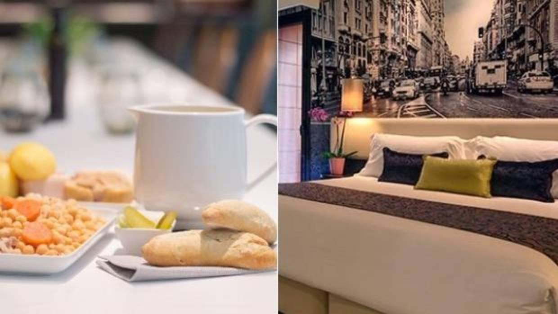 Domingos de cocido y siesta en un hotel de Gran Vía