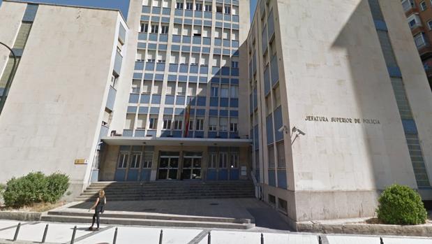 Sede de la Jefatura Superior de Policía de Zaragoza