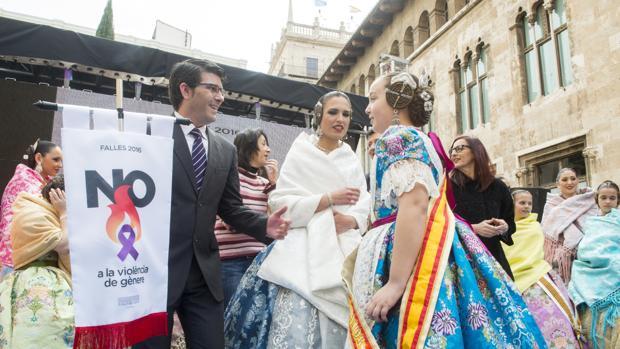 Imagen de Jorge Rodríguez tomada durante la recepción del pasado año