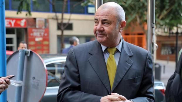 El director de la SPTCV, Antonio Rodes, en Alicante