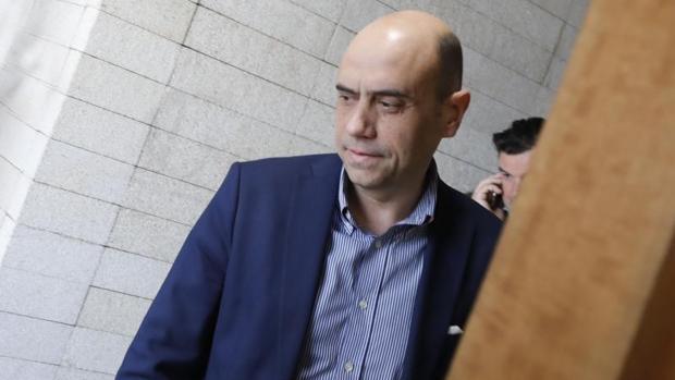 El alcalde de Alicante, Gabriel Echávarri, esta semana en dependencias municipales
