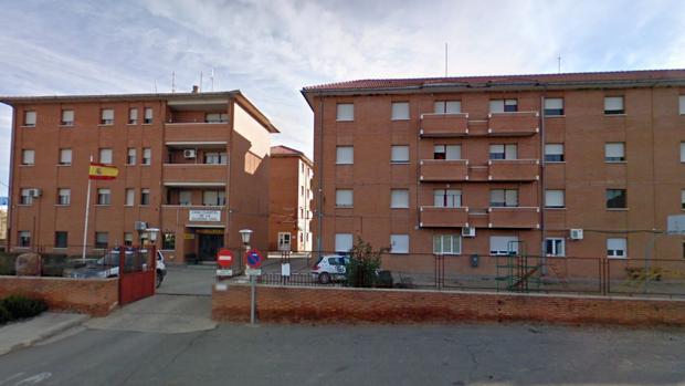 Casa-cuartel de la Guardia Civil en Calatayud (Zaragoza)