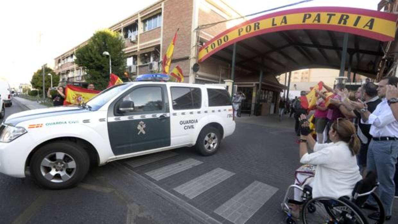 Los cuarteles de la Guardia Civil de Albacete, Guadalajara y Toledo, más viejos que la media