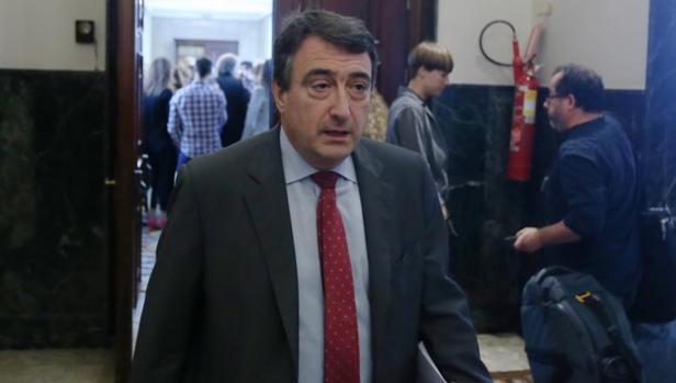 El portavoz del PNV en el Congreso de los Diputados, Aitor Esteban