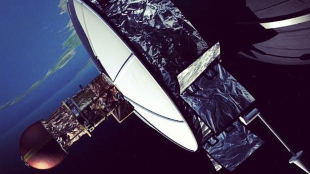 Imagen de un satélite difundida por la empresa EMXYS