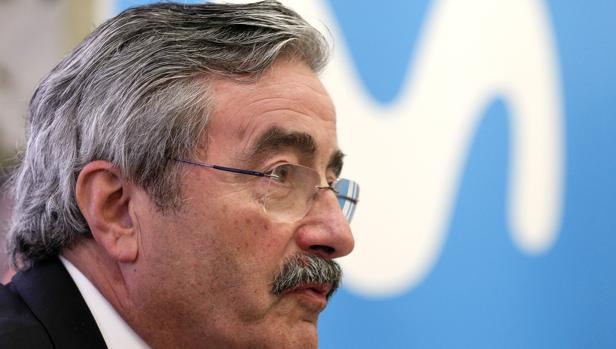 El director general de Telefónica en Comunitat Valenciana, Cataluña, Murcia y Baleares, Kim Faura, en una imagen de este miércoles