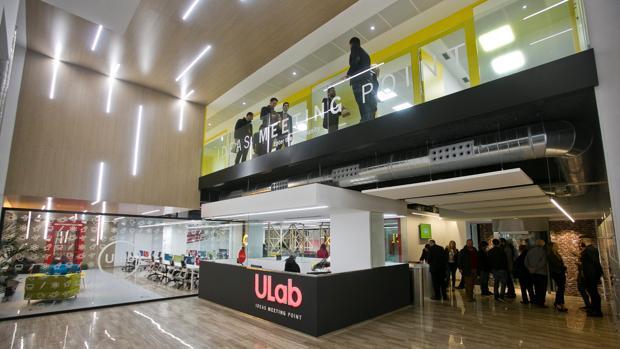 Evento reciente en el centro de ideas y coworking ULAB en la Rambla de Alicante