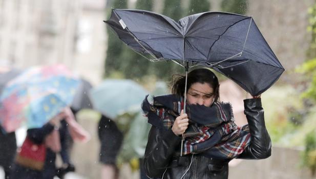 La borrasca Gisele dejará rachas de viento de hasta 120 kilometros/hora en Parameras en la provincia de Guadalajara