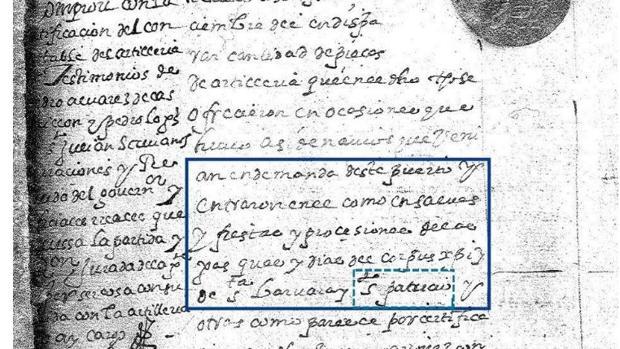 Partida presupuestaria por el Día de San Patricio en Florida en 1600