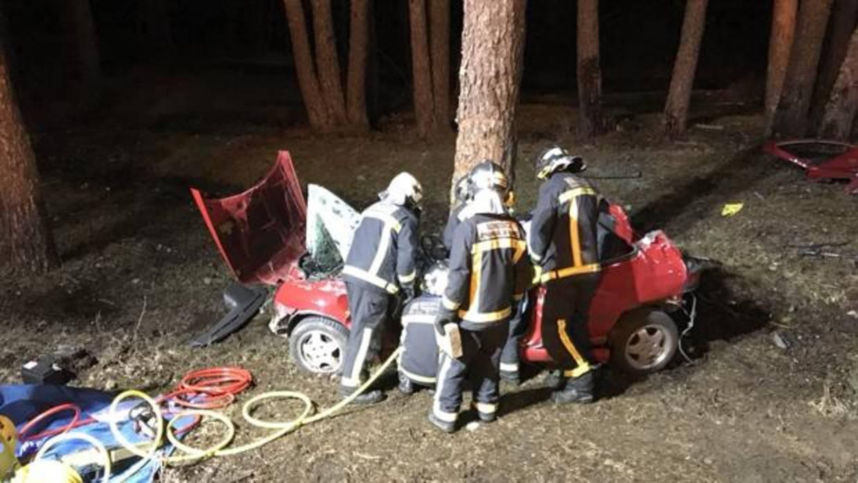 Muere joven de 18 años en un accidente de tráfico en Rascafría