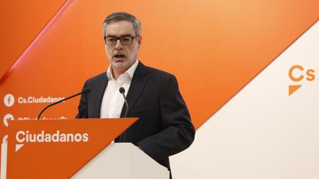 El secretario general de Ciudadanos, José Manuel Villegas, ha explicado las medidas
