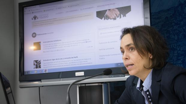 Helena Galán, concejal de Participación Ciudadan