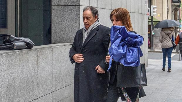 José Carlos Margüello, junto a María Nieves Fernández