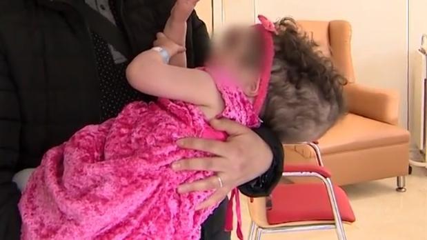 Izmar Malak, la niña operada en Madrid