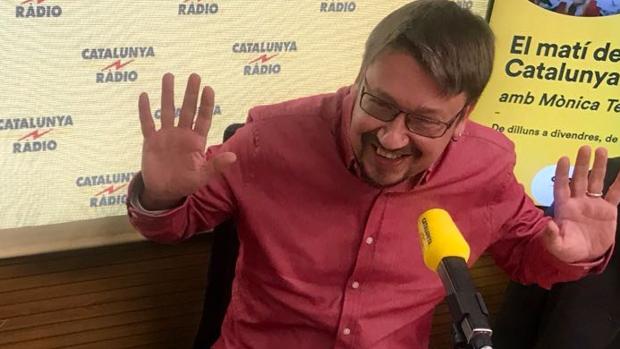El líder de Catalunya en Comú-Podem, Xavier Domènech