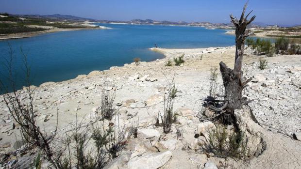 Embalse de la Pedrera en la provincia de Alicante