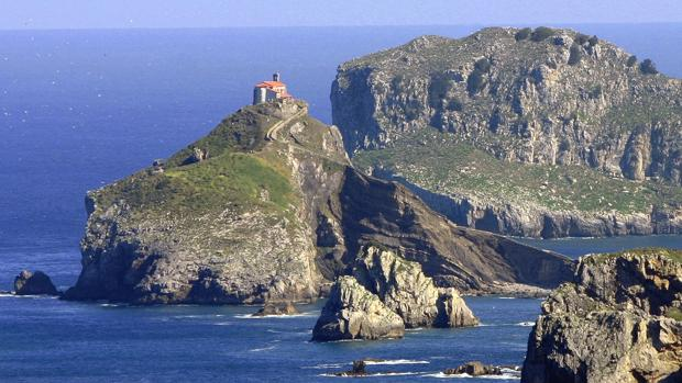 Vista de San Juan de Gaztelugatxe