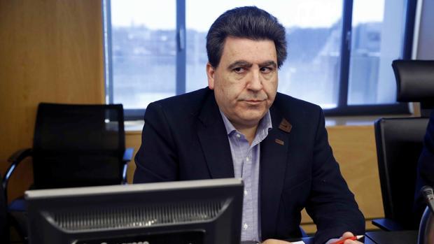 El empresario David Marjaliza, considerado uno de los cabecillas de la trama Púnica, en su comparecencia en el Congreso