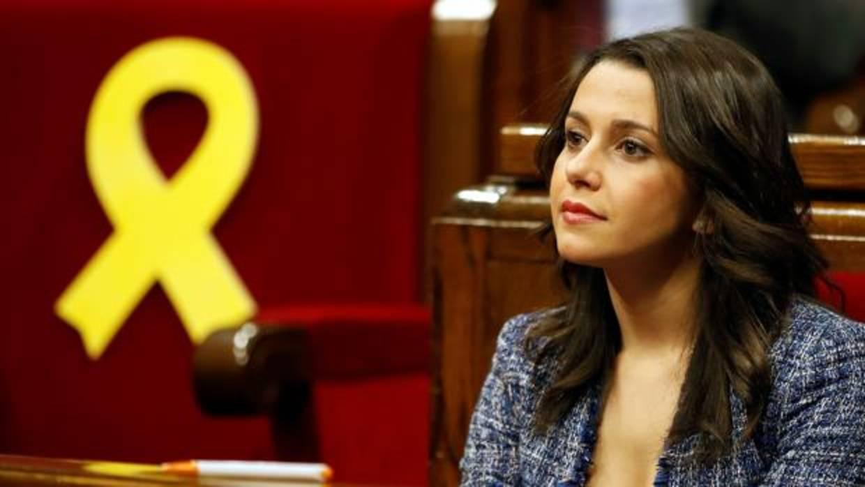 Inés Arrimadas, a Turull: «Ha sido capaz de decepcionar a todo el mundo, que es difícil»