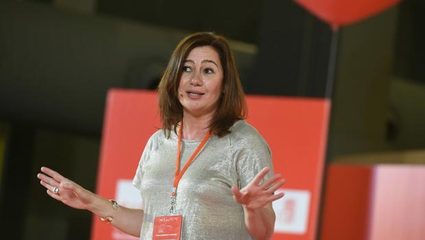 La presidenta de Baleares, Francina Armengol