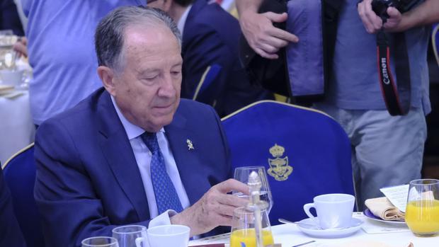 El director general del CNI, Félix Sanz Roldán, en un acto reciente