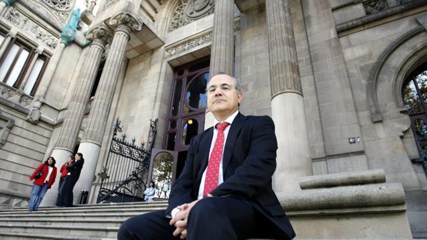 El juez Pablo Llarena, en la Audiencia Provincial de Barcelona