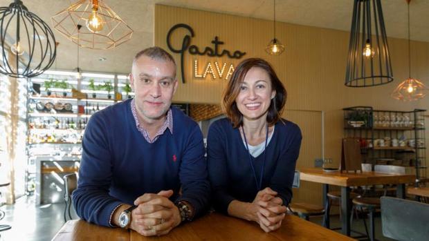 Los gerentes de Gastrolava, José Manuel Manzano y María Eliecer