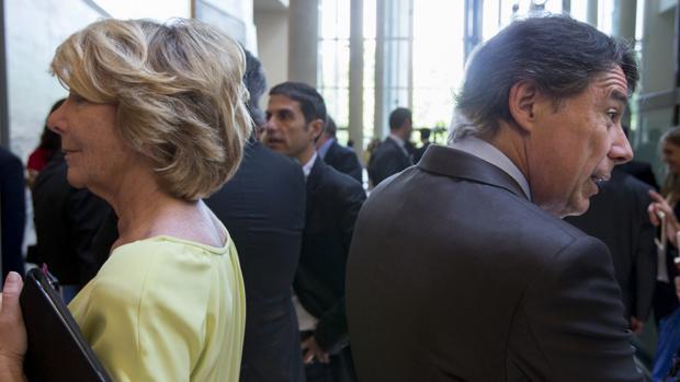 Esperanza Aguirre e Ignacio González, en una imagen de archivo