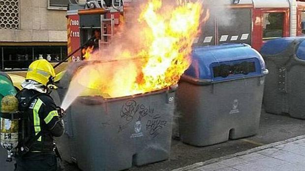 Imagen de incendios parecidos son los que se están registrando en Guadalajara