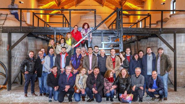 Visita al Museo del Vino de Valdepeñas dentro del programa «Un paseo real», de la Diputación de Ciudad Real