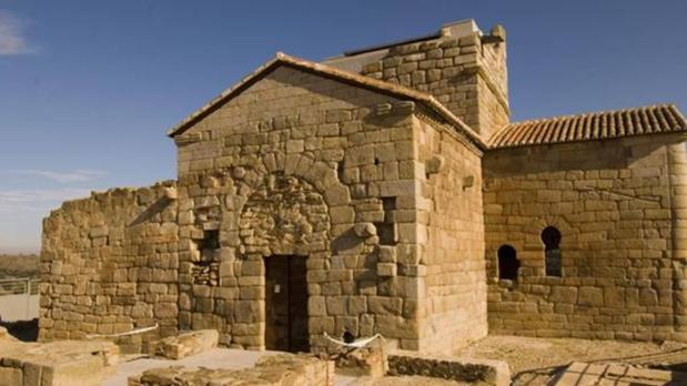 Santa María de Melque, en San Martín de Montalbán, uno de los principales ejemplos de arquitectura visigótica