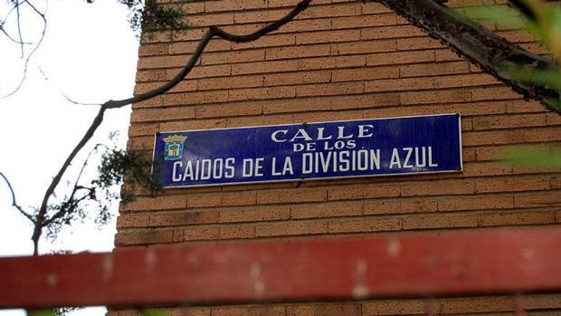 evés judicial a Carmena: el juez anula el cambio de nombre de la calle «Caídos de la división azul» Caidos-division-azul-krGH--620x349@abc